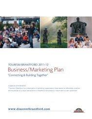 Business/Marketing Plan - City of Brantford