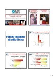 relazione - Marketing sociale e Comunicazione per la salute