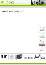 Installationskatalog 2011 - Relens