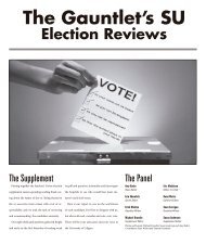 SU Elections - The Gauntlet