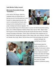 Lake Benton Valley Journal.pdf - The Minnesota Project