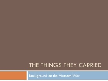 The Things they Carried[1].pdf