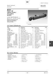 CDL1 型865 - 力士乐