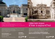L'Hôtel Saint-Jacques d'hier à aujourd'hui - Lot-et-Garonne