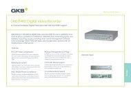 GKB R402 Digital Video Recorder - Seadan Security & Electronics
