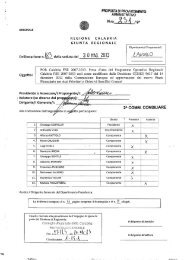 POR Calabria FSE 2007-2013. Presa d'atto del Programma ...