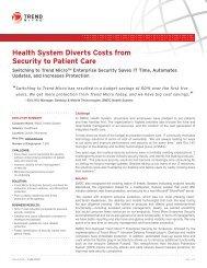 SMDC Health System (PDF/engl.) - Trend Micro
