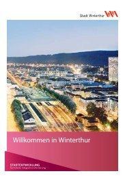 Willkommensbroschüre(PDF, 984 KB) - Stadtentwicklung - Winterthur