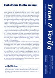 Trust and Verify - VERTIC