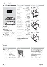 56 Magnetschalter EX-BN 20-…-3G/D Bestelldaten ... - KASBASE