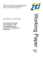 Deutschlands Wirtschaft, seine Schulden und die ...