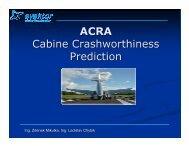 ACRA Cabine Crashworthiness Prediction - PolSCA