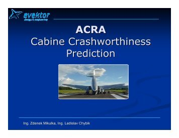 ACRA Cabine Crashworthiness Prediction - PolSCA