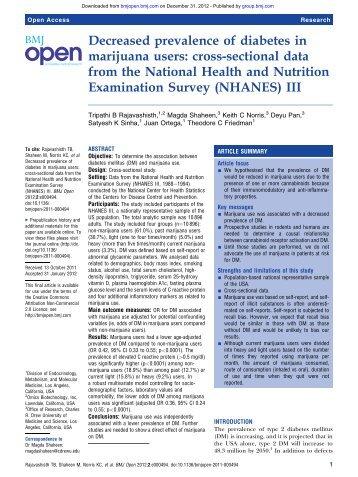 Decreased Diabetes in MJ Users - BMJ Open 2012.pdf