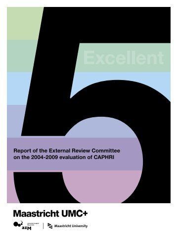 Report of the External Review Committee on the 2004-2009 ... - Caphri