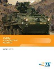 DSEi brochure - TE Connectivity