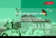 Gesundheitsregion Berlin - alpheios