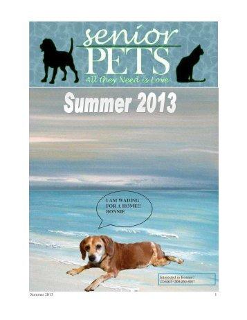 Summer 2013 - Mayor's Alliance for NYC's Animals