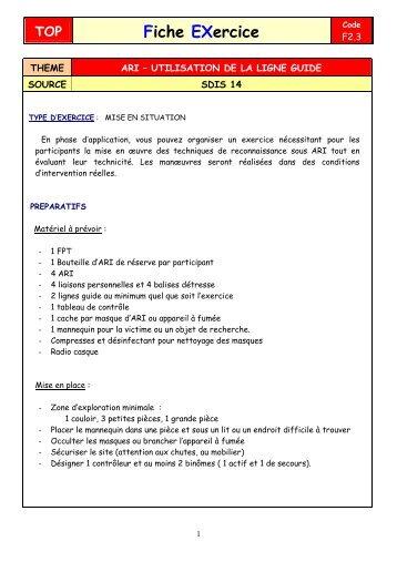 info document - SDIS14