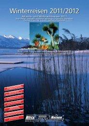 Winterreisen 2011/2012 - Blitz-Reisen HomePage