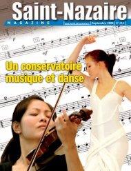 Un conservatoire musique et danse Un ... - Saint-Nazaire