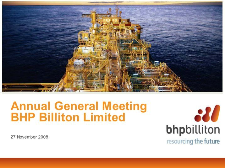 bhp billiton ltd essay Mine, market, environment - bhp billiton's global success.