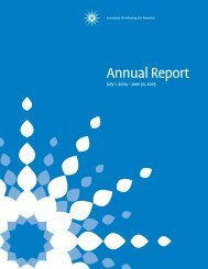 Annual Report1_17_06HM - Association of Performing Arts Presenters