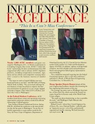 EXCELLENCE - American Council of Engineering Companies