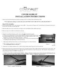 COVER SLIDE-IT INSTALLATION INSTRUCTIONS - Hot Tub Works