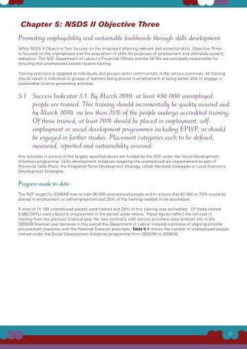 Implementation Report 2008 - 2009 - Chpt5.pdf - Department of ...