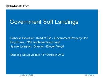 Government Soft Landings - BIM Task Group
