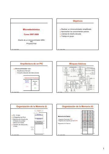 Transparencias Proyecto Final