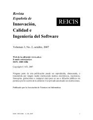 Innovación, Calidad e Ingeniería del Software - ATI