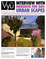INTERVIEW WITH - Vyu Magazine