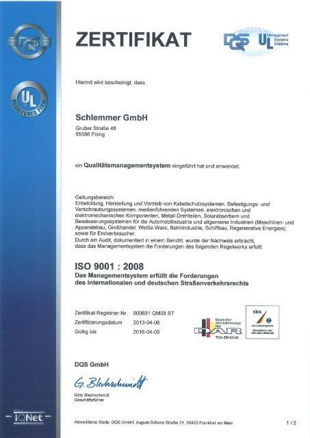 Poing DIN ISO 9001_2016-04-05 - Schlemmer