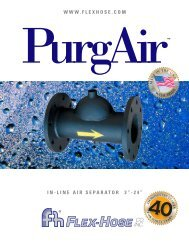 PurgAir Brochure - Flex-Hose Co Inc