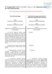 decreto 69/2013 - LeggiOggi