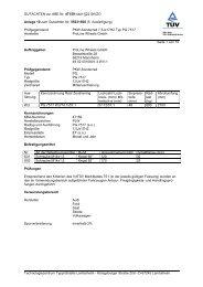 GUTACHTEN zur ABE Nr. 47159 nach §22 StVZO Anlage 10 zum ...