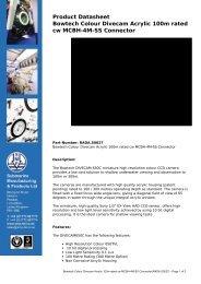 Bowtech Colour Divecam Acrylic 100m rated cw MCBH-4M-SS ...