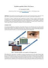 Resolution capabilities of future THz Cameras - Grupo de Antenas