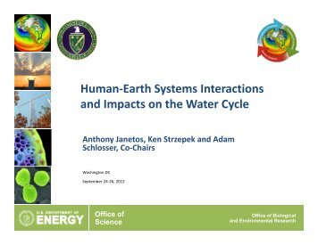 Topic 2 - Climate and Earth System Modeling