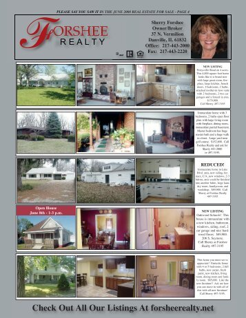 Check Out All Our Listings At forsheerealty.net - Youngspublishing ...