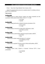 Úlohy z vedenia TU zo dňa 15. marca 2006