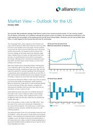 Market View – Outlook for the US - Alliance Trust