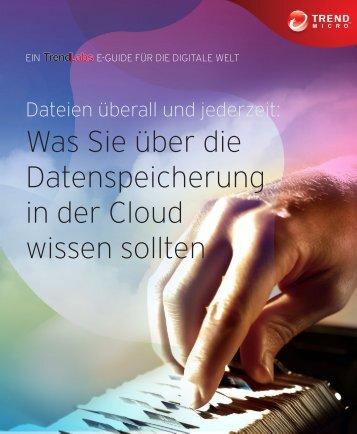 Was Sie über die Datenspeicherung in der Cloud ... - Trend Micro