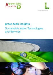 green tech insights Sustainable Water Technologies and Services