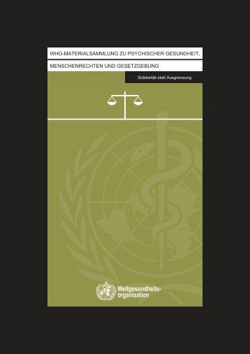 Weltgesundheits- organisation - RUIG-GIAN