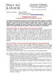 Télécharger le dossier de presse complet - Limousine.org