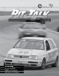 IN THIS ISSUE: Big Lap Rally Results NERRC 4, 5 & 6 Results Solo ...
