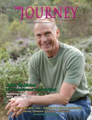 July-August 2012 - The Journey Magazine
